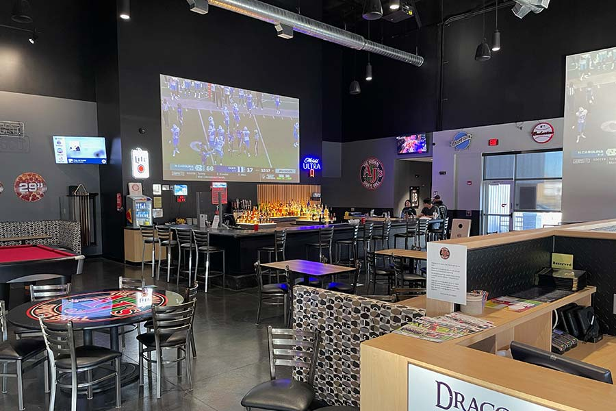 AJ Sports Grill at The Alley in Salina, KS