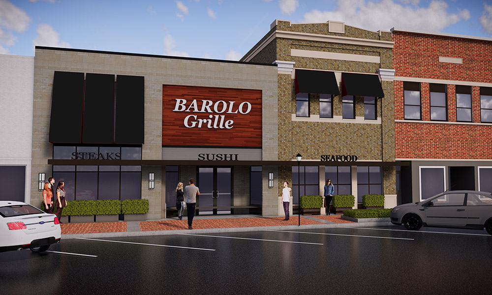 Downtown Salina, KS adds Starbucks and Barolo Grille