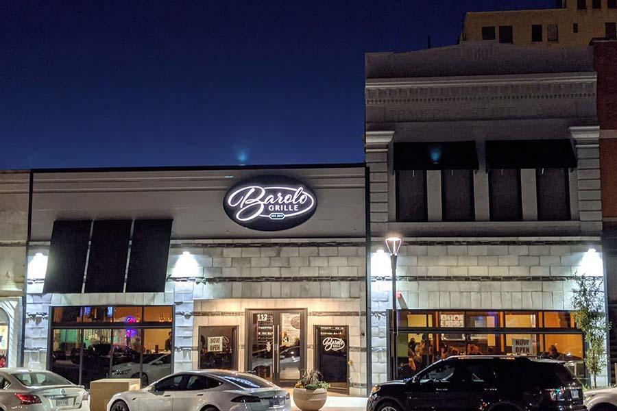 Barolo Grille in Salina, Kansas