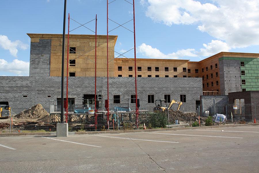 North Pool Building Elevation - Homewood Suites by Hilton in Salina, Kansas