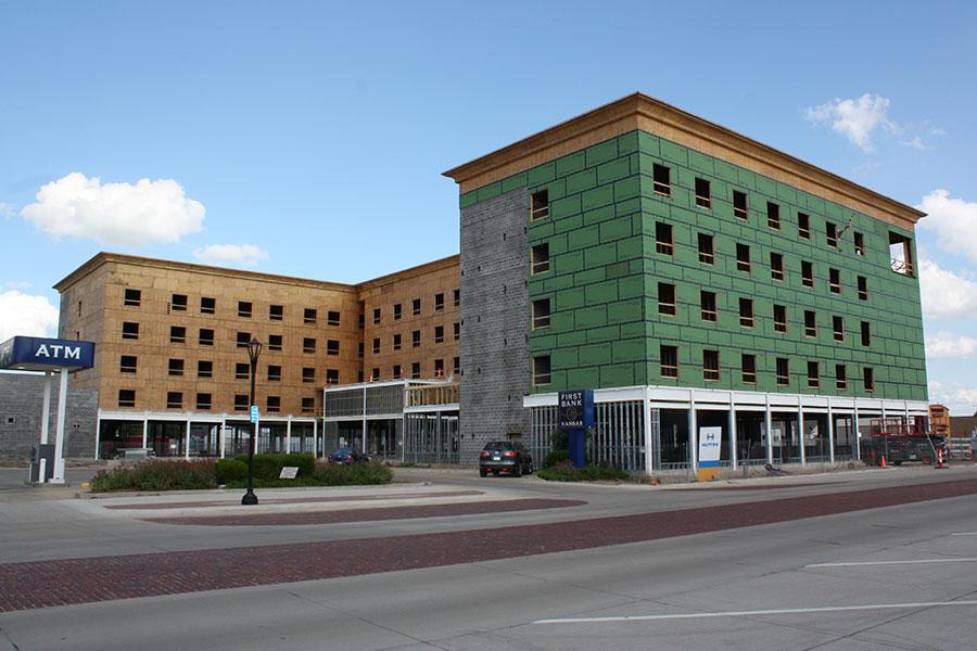 Northwest Elevation - Homewood Suites by Hilton in Salina, Kansas