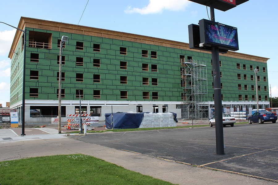 South Elevation - Homewood Suites by Hilton in Salina, Kansas