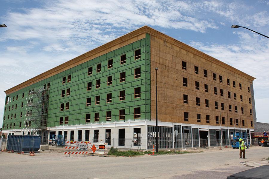 Southeast Elevation - Homewood Suites by Hilton in Salina, Kansas