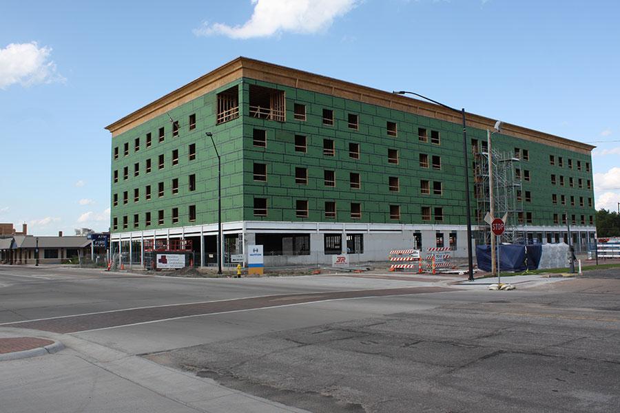 Southwest Elevation - Homewood Suites by Hilton in Salina, Kansas
