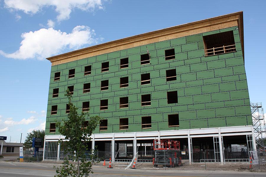 West Elevation - Homewood Suites by Hilton in Salina, Kansas