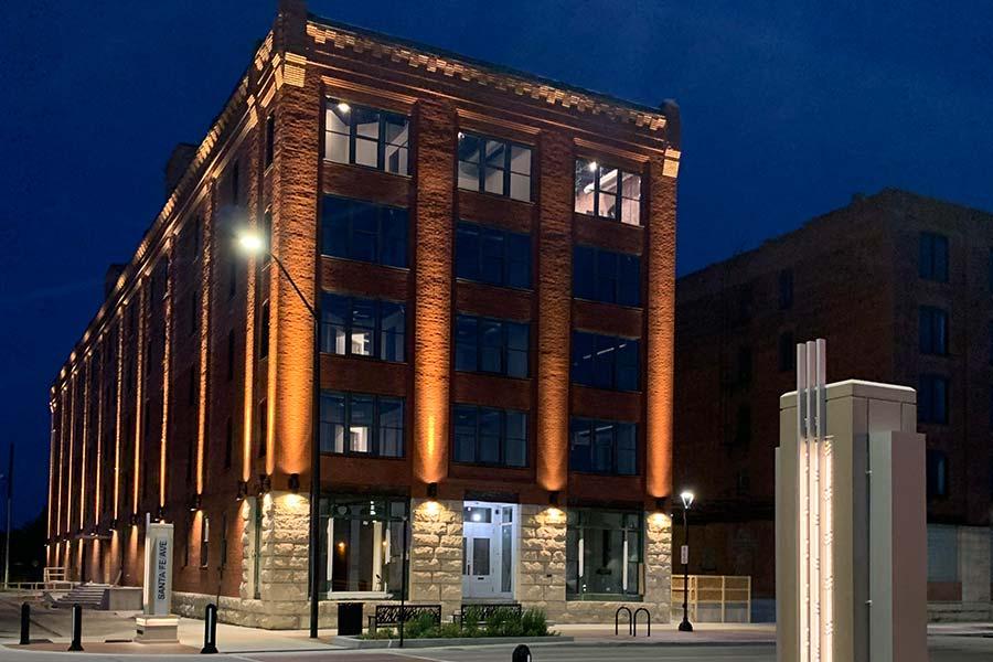 Lee Buildings in Downtown Salina, Kansas