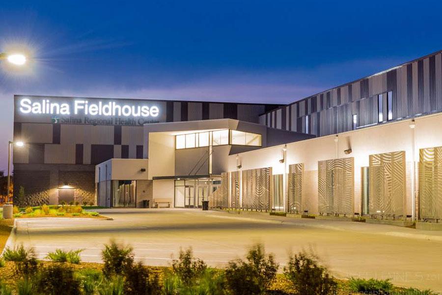 Salina Fieldhouse in Salina, Kansas