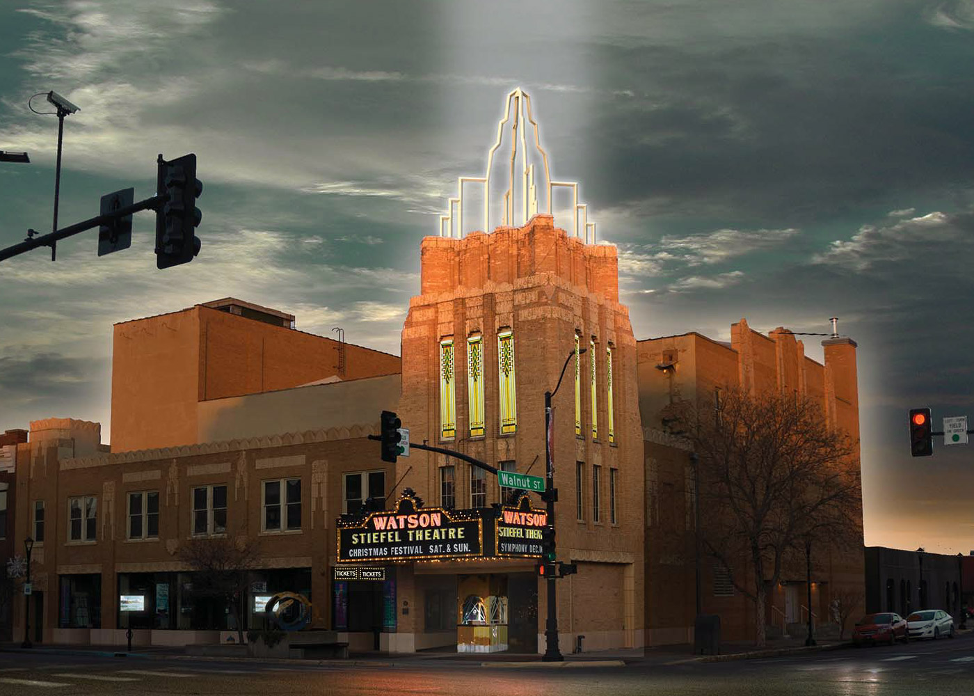 Stiefel Theatre in Salina, Kansas