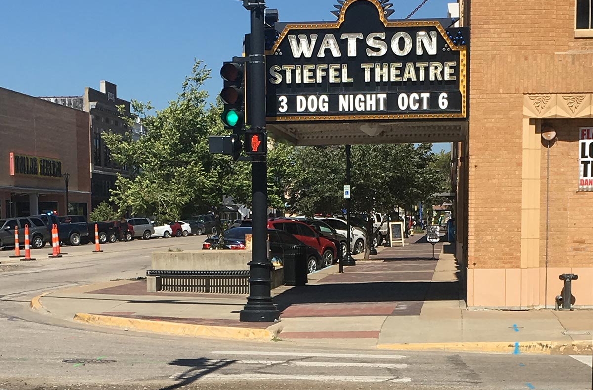 Stiefel Theatre in Saline, Kansas